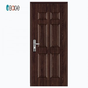 Baige American Steel Door / Entry Kute / Safety Door Design With Grill